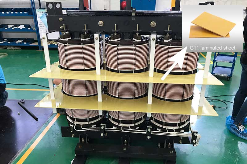 G11 epoxy laminate sheet used in transformer